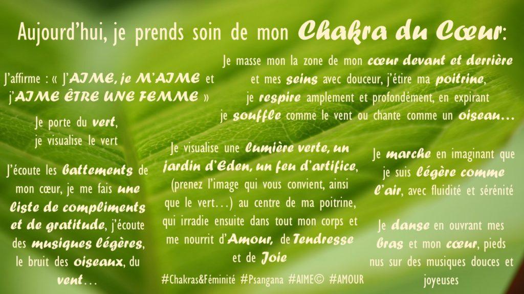 Chakras & Féminité
